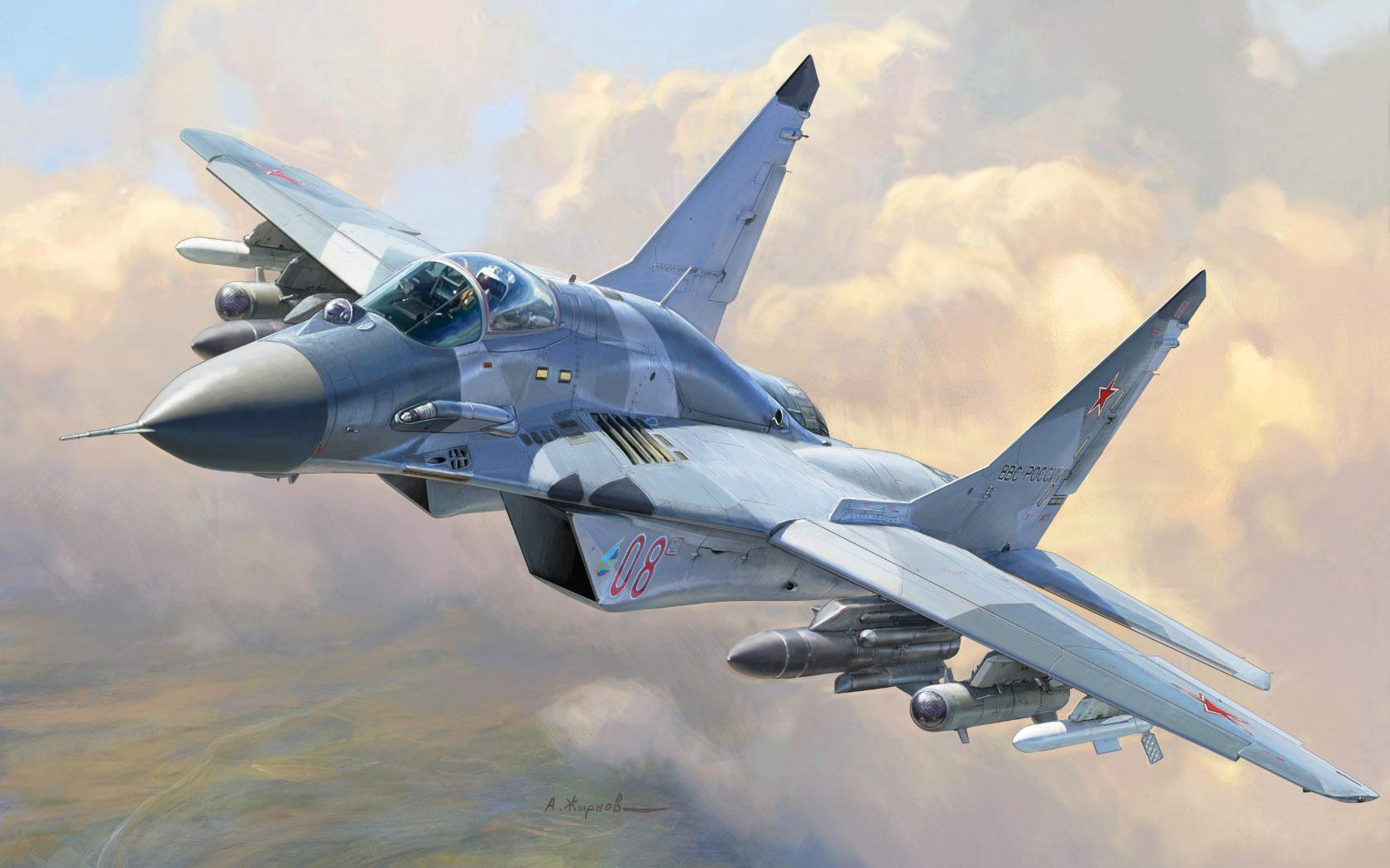 рисунок МиГ-29СМТ