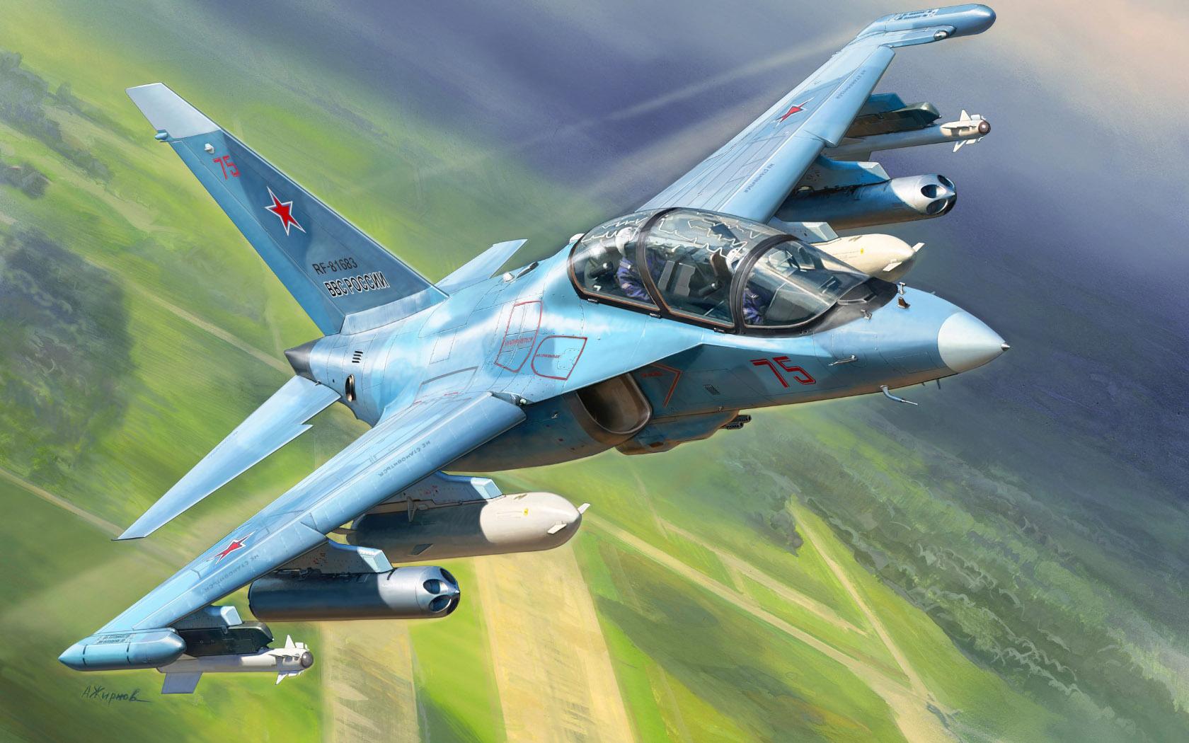 рисунок Як-130
