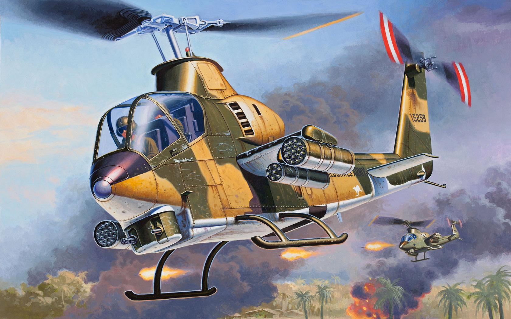 рисунок Bell AH-1G Cobra