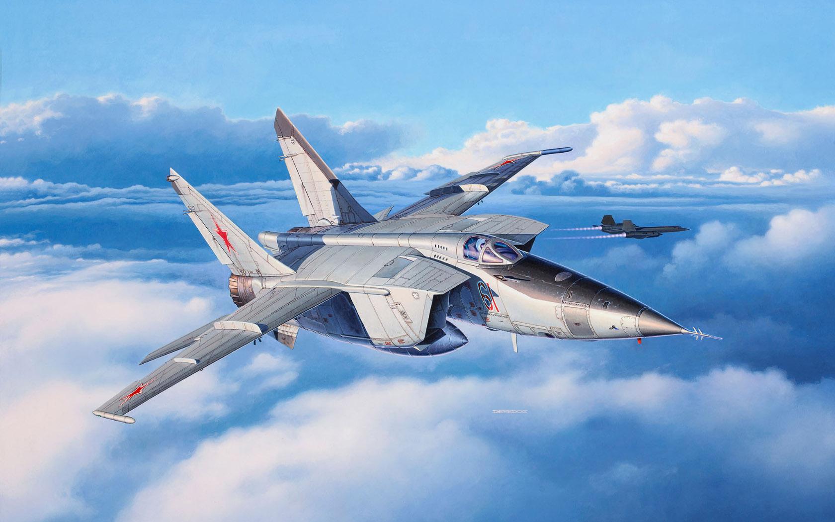 рисунок MiG-25RBT