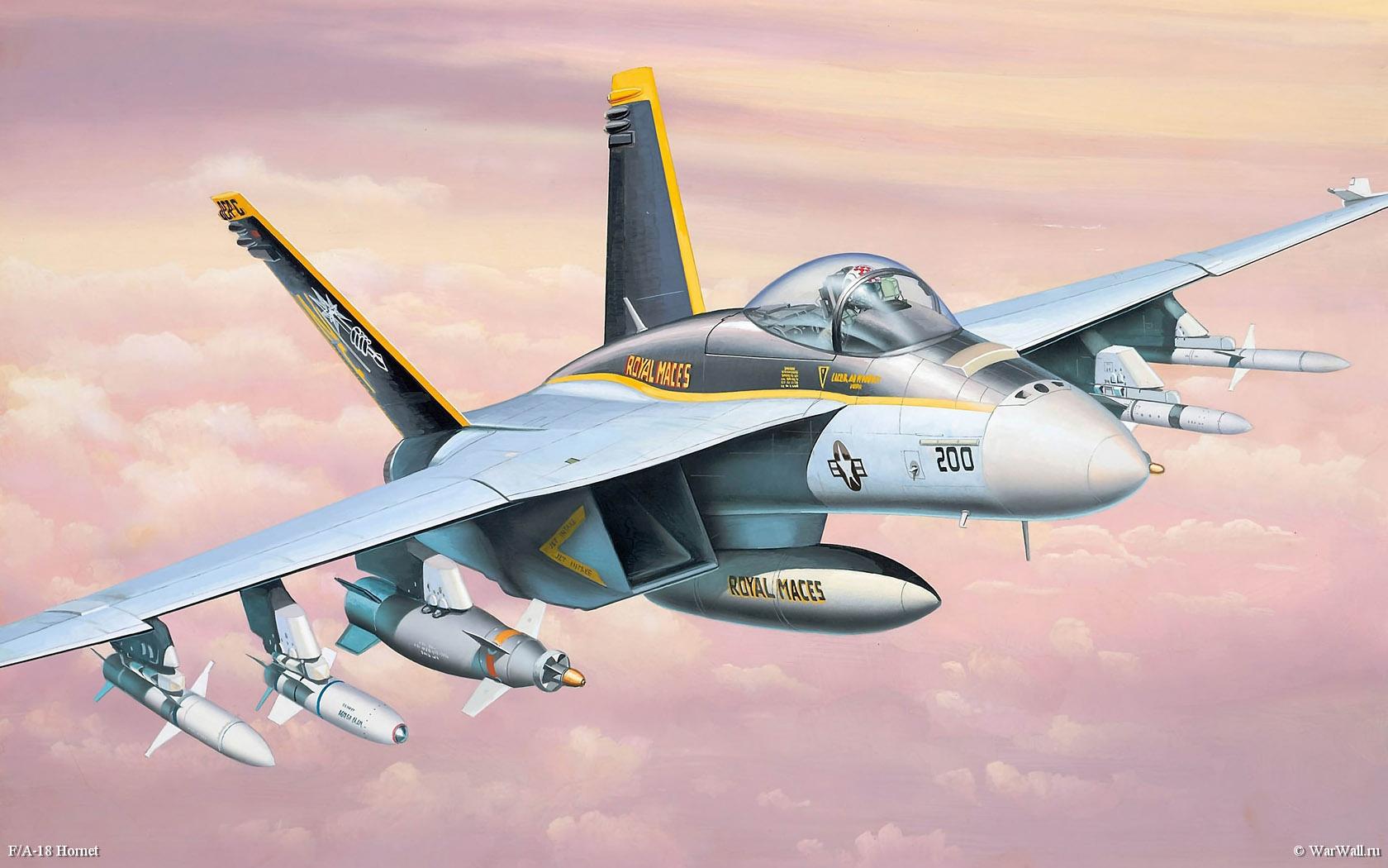 рисунок 06626 F/A-18 Hornet