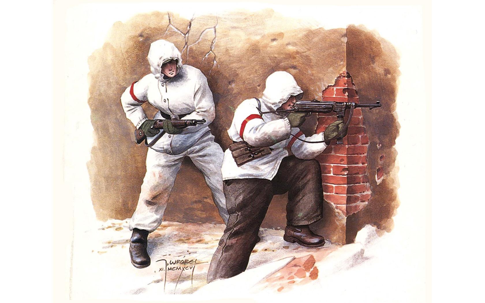 рисунок Сталинград 1942-1943