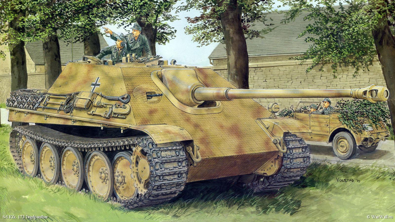 рисунок 6494 Sd.Kfz. 173 Jagdpanther Ausf. G