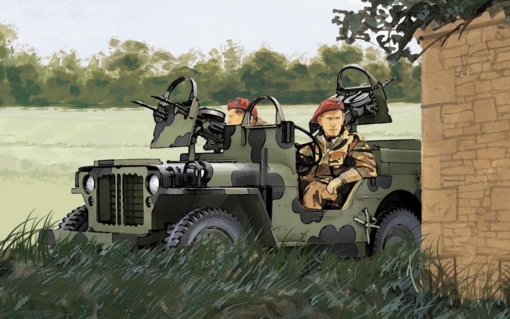 рисунок SAS Raider 4x4 Truck