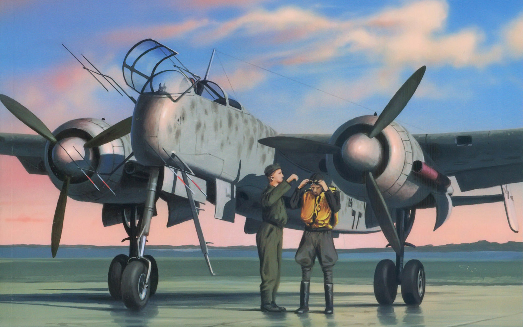 рисунок Heinkel He 219