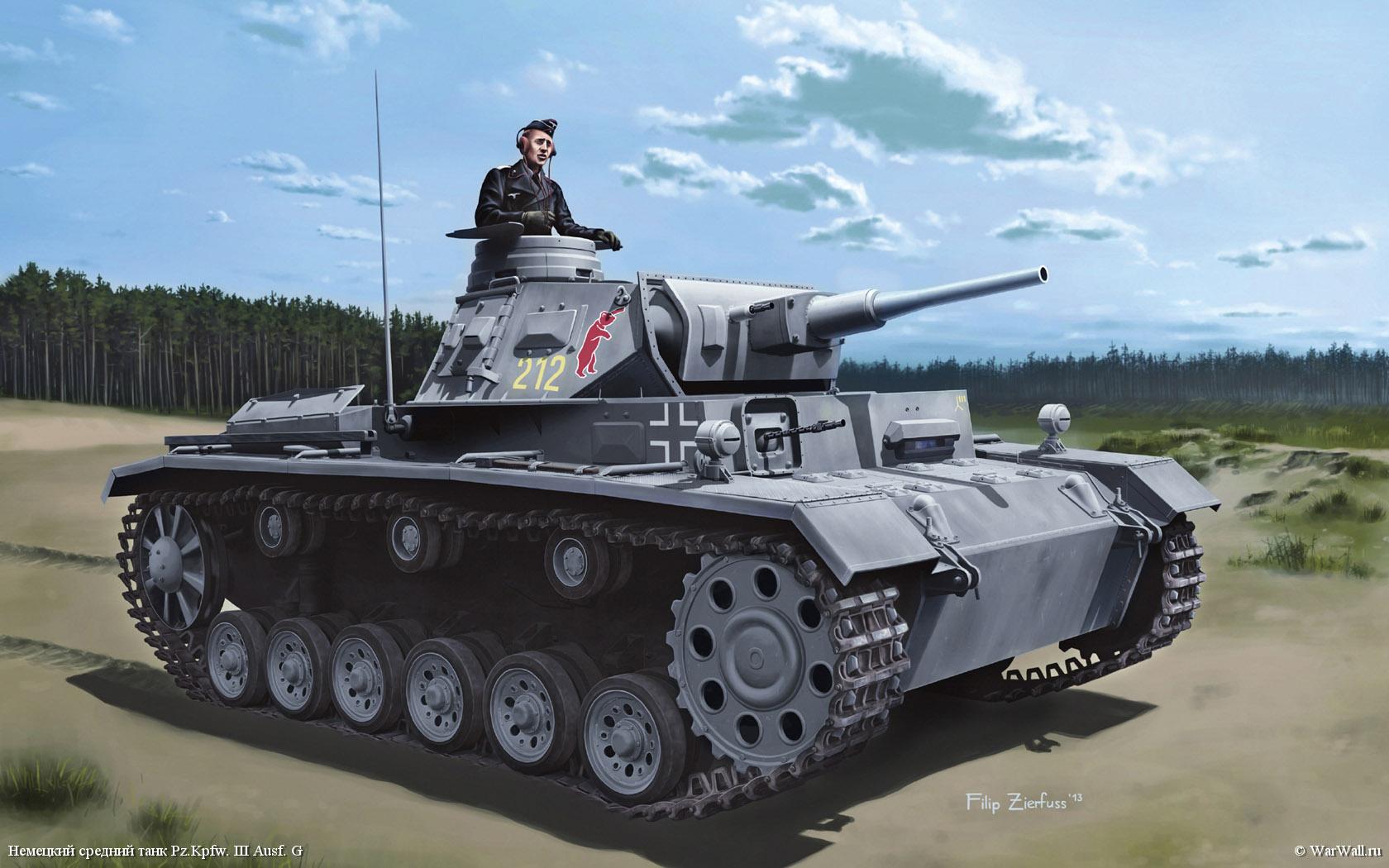 рисунок 6773 Pz.Kpfw.III (5cm) (T) Ausf.G