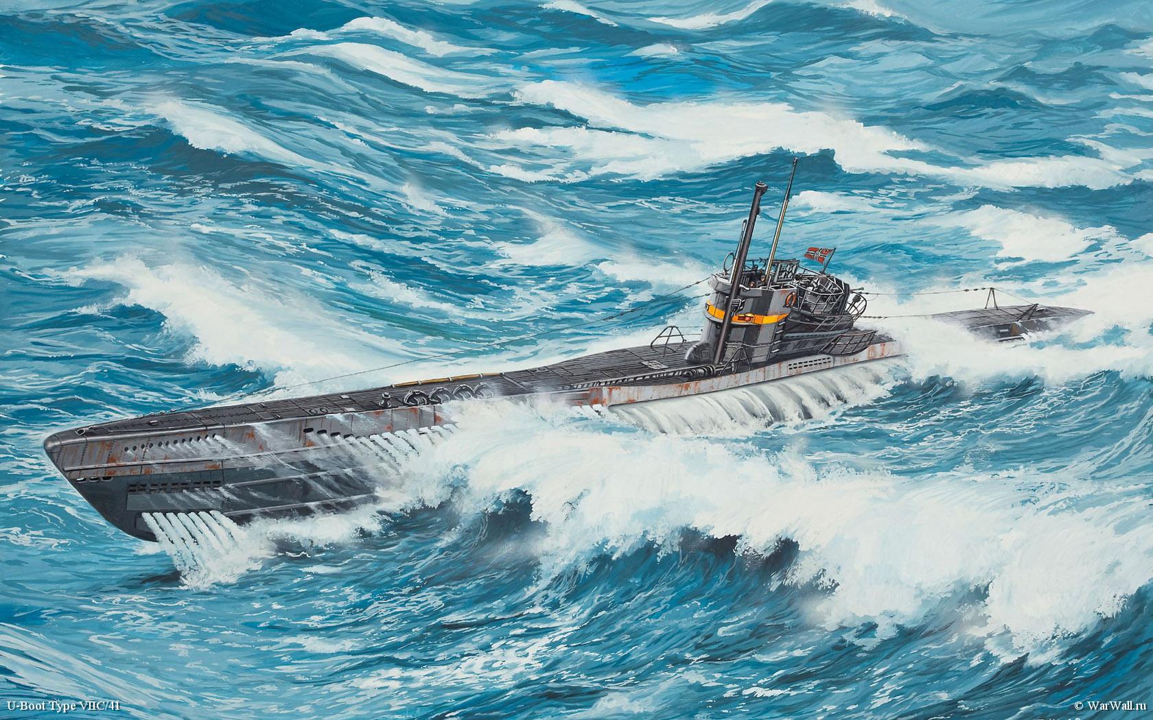 рисунок 05100 U-Boot Type VIIC
