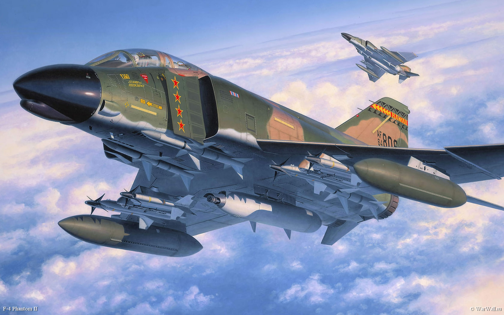 рисунок 04583 F4 Phantom II