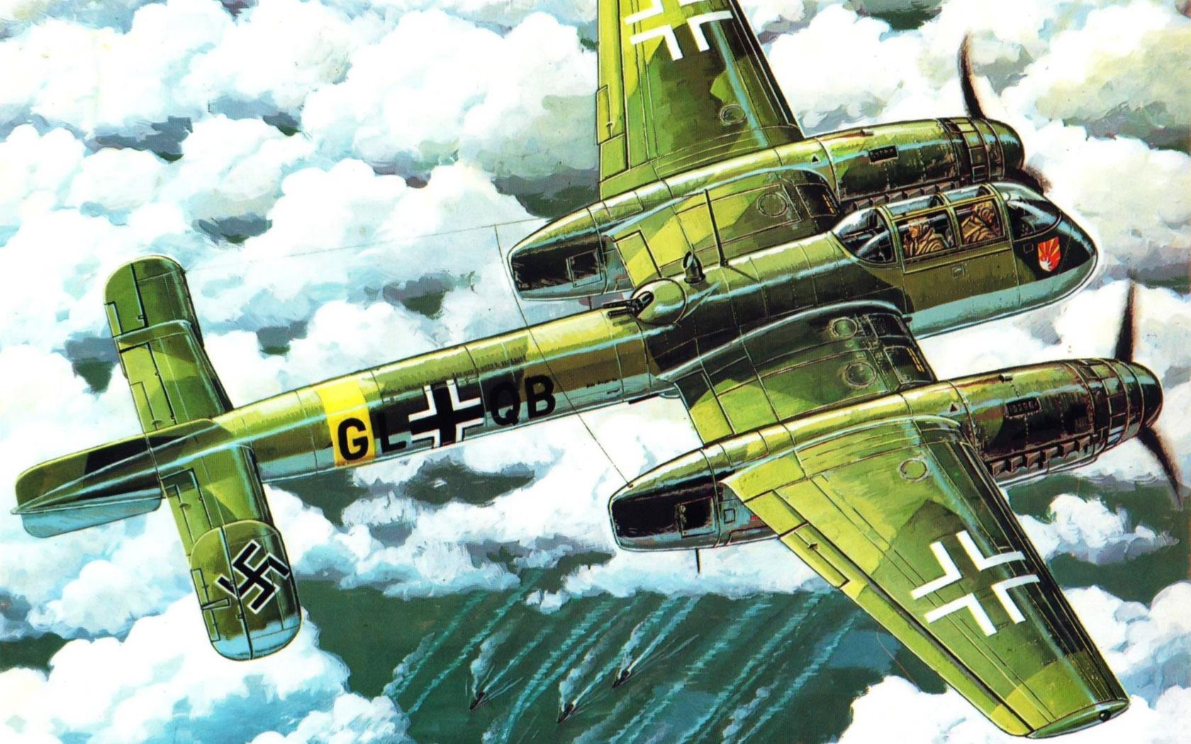 рисунок Arado-240
