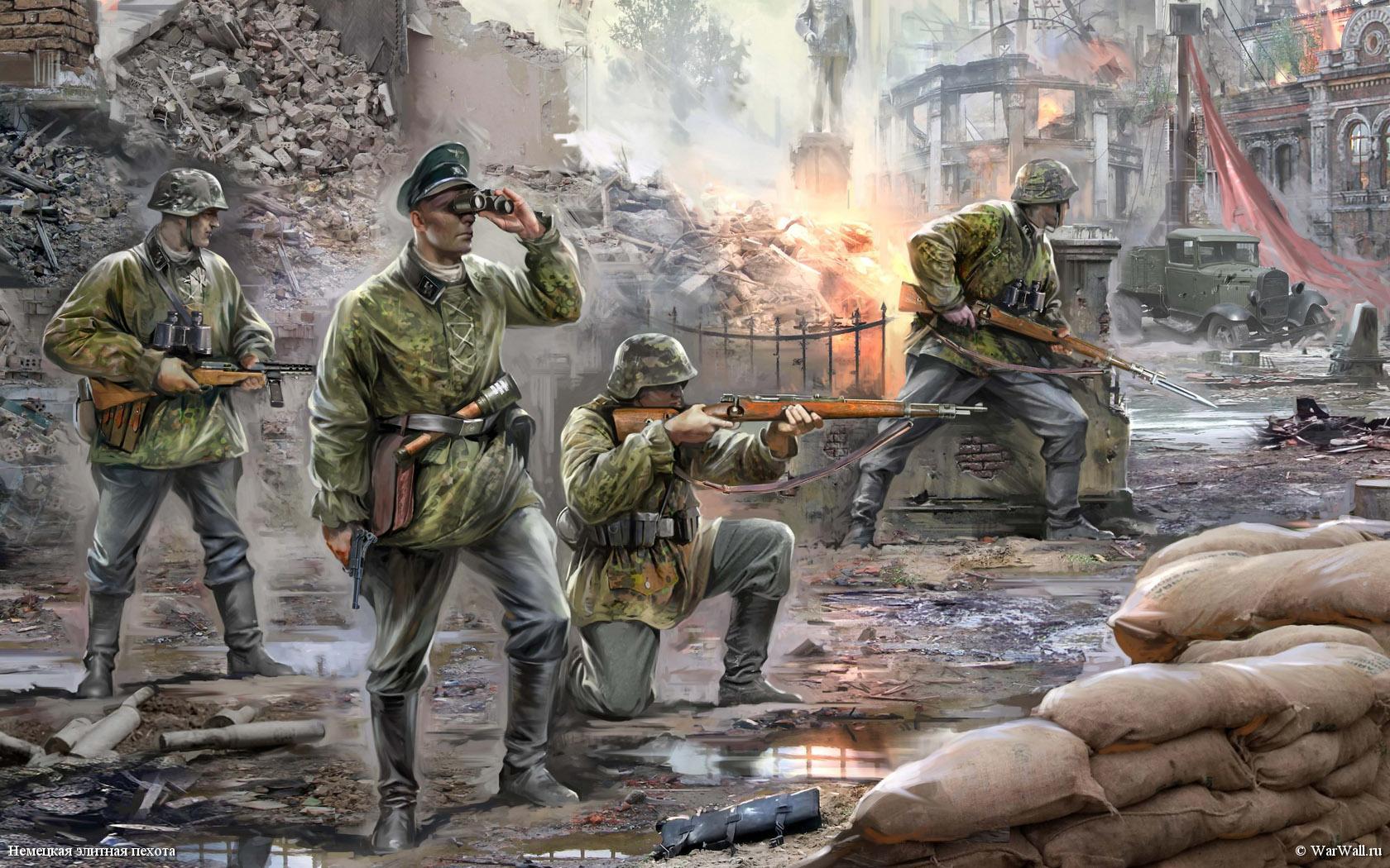 рисунок 6180 Немецкая элитная пехота