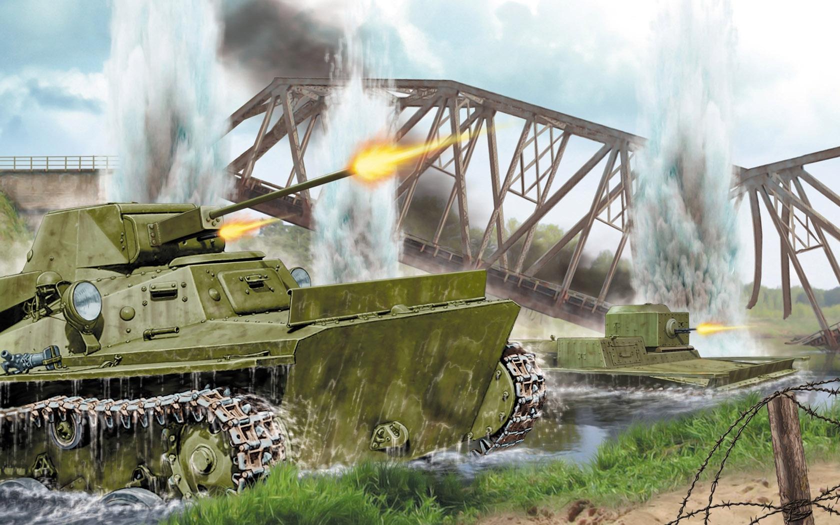 рисунок Т-40С