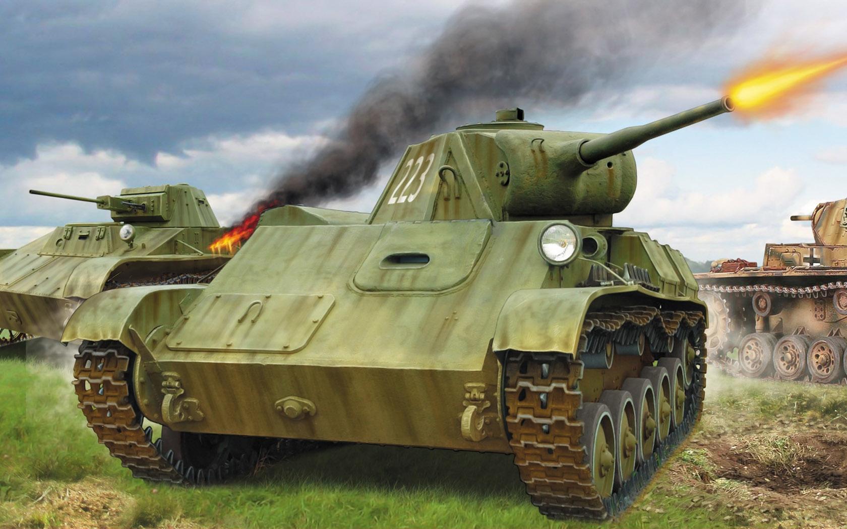 рисунок Т-60 и Т-70