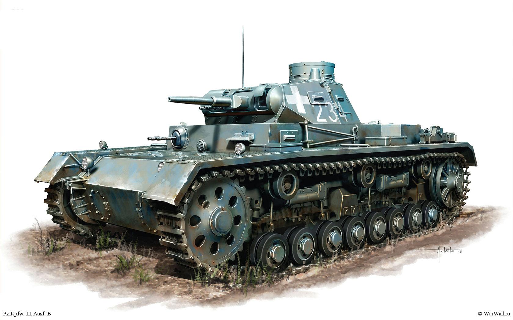 рисунок 35162 Pz.Kpfw. III Ausf. B