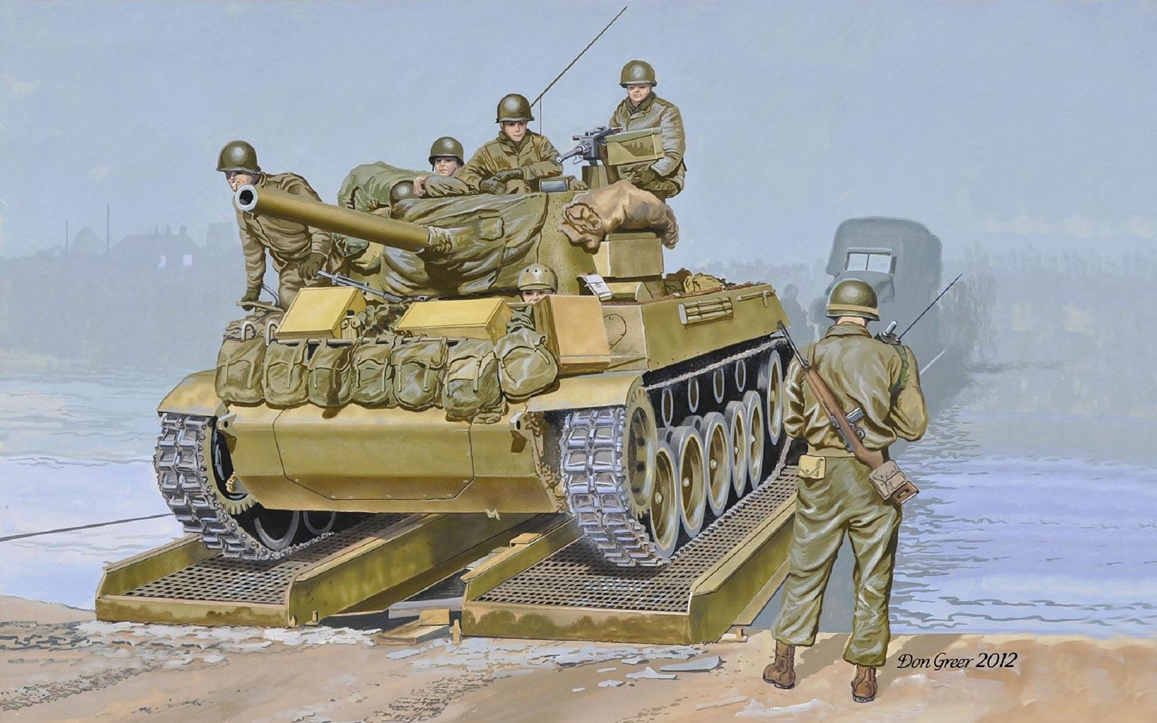 рисунок M18 Hellcat