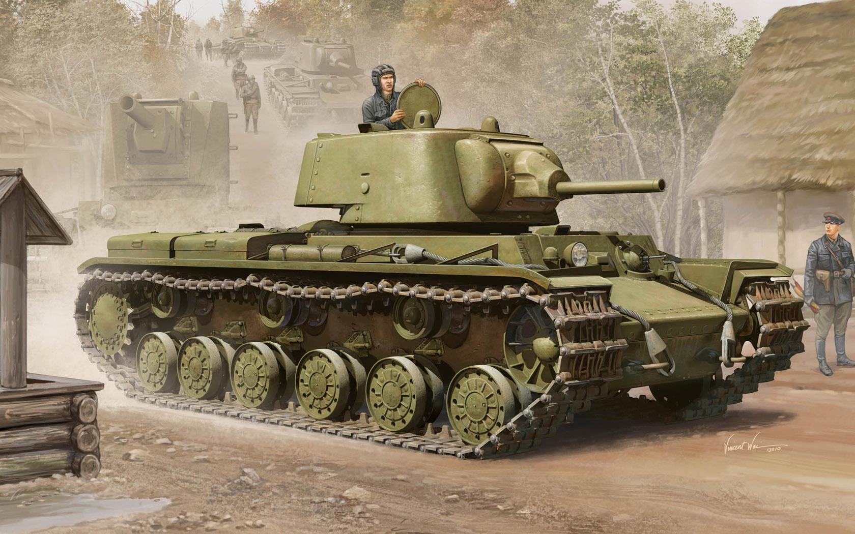 рисунок КВ-1 образца 1939 года