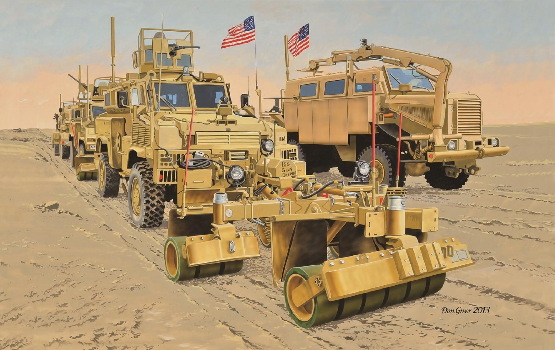 рисунок US MRAPs