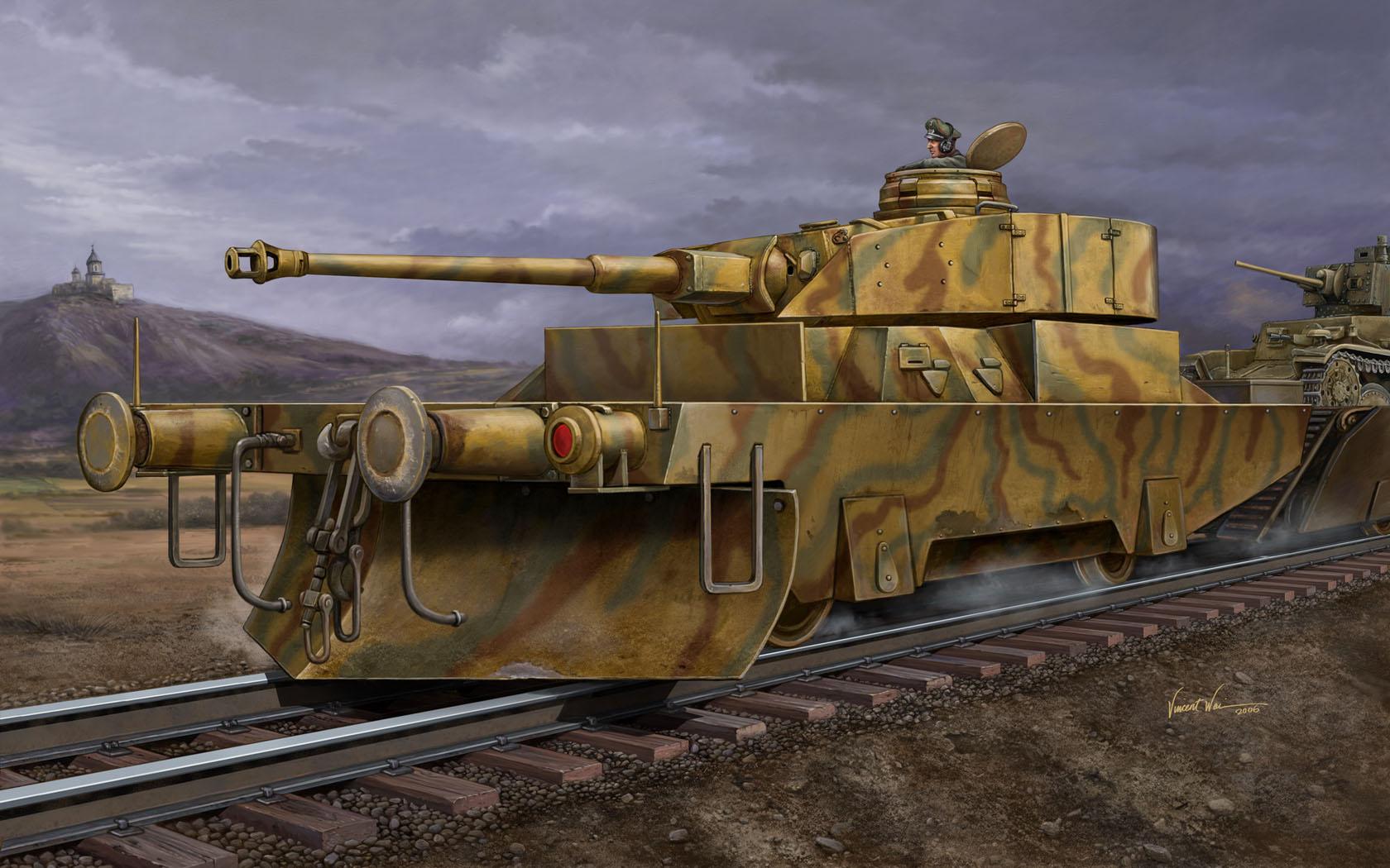 рисунок Panzerjägerwagen