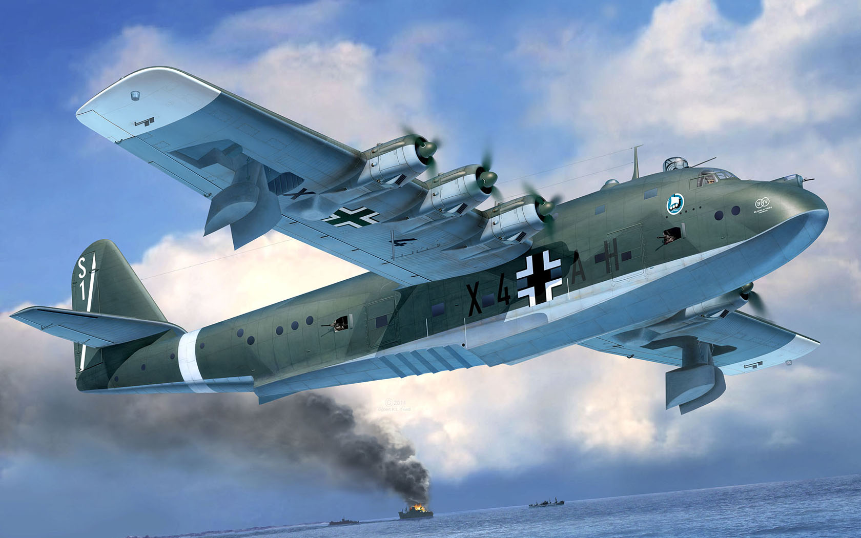рисунок Blohm & Voss BV 222