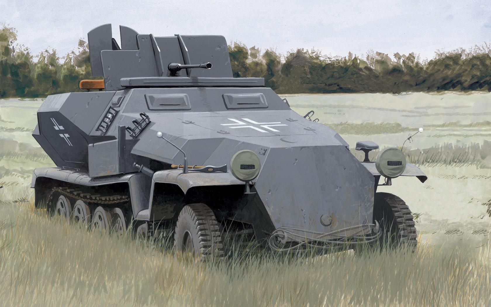 рисунок SdKfz 251/17