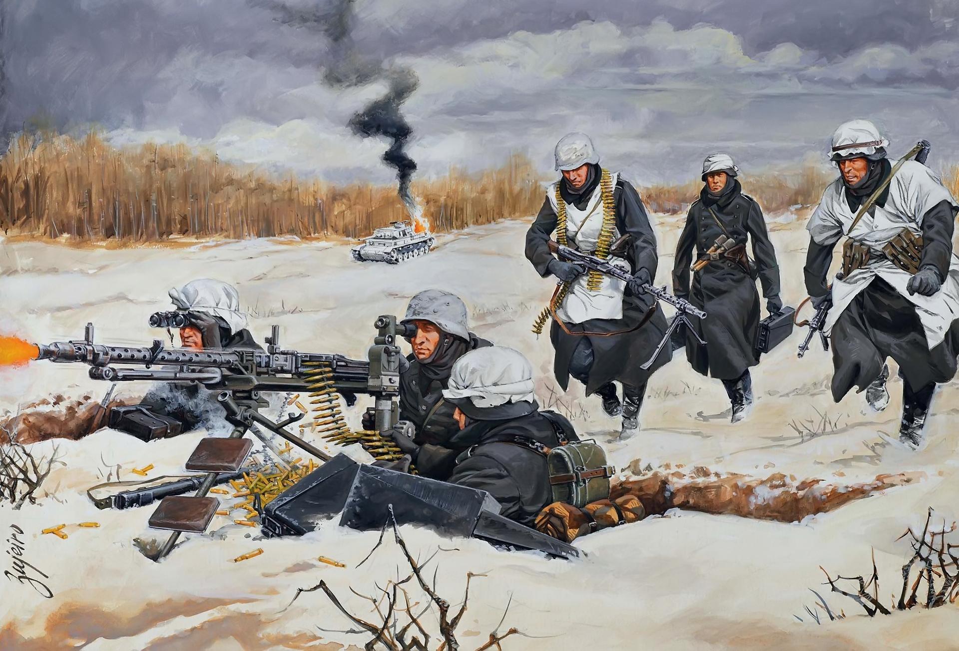 рисунок расчет MG-34