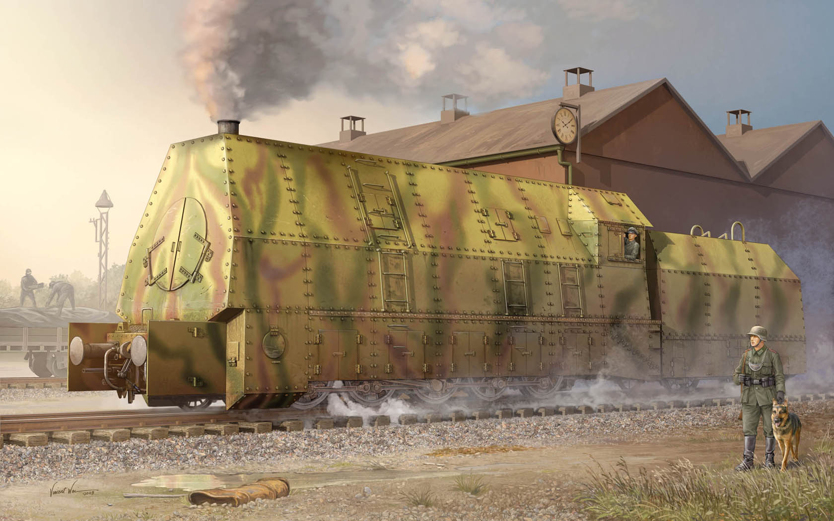 рисунок Panzerlok BR57