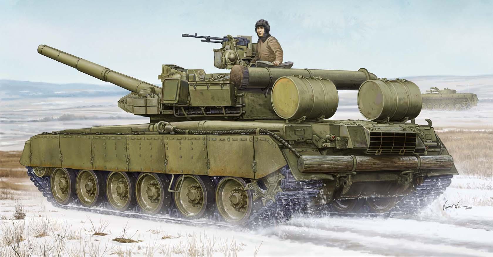 рисунок Т-80БВД