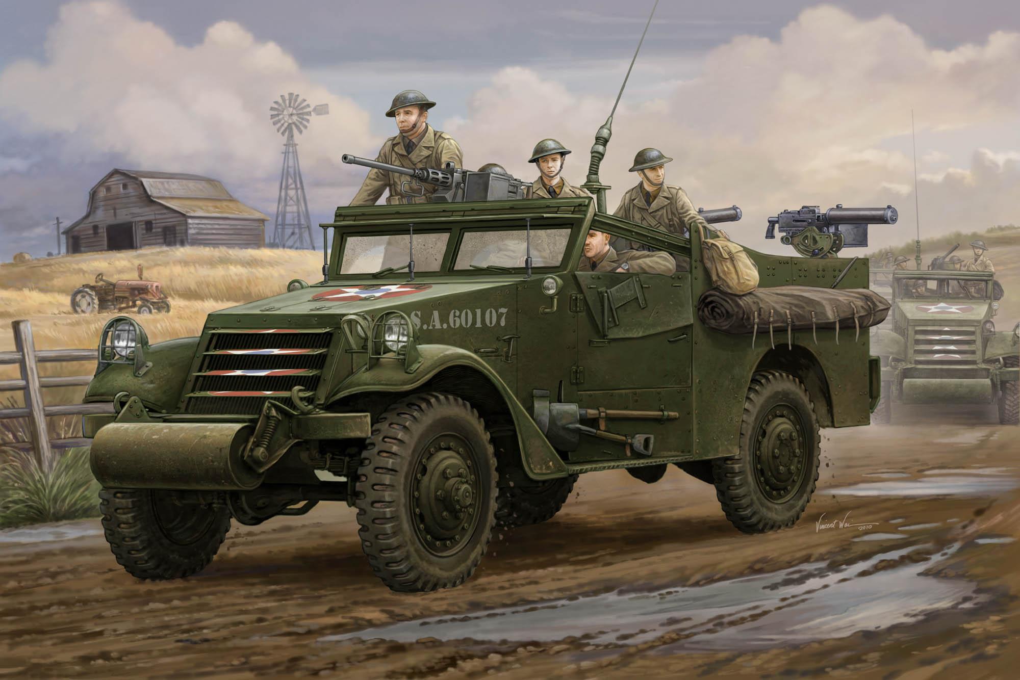 рисунок M3A1 Scout Car