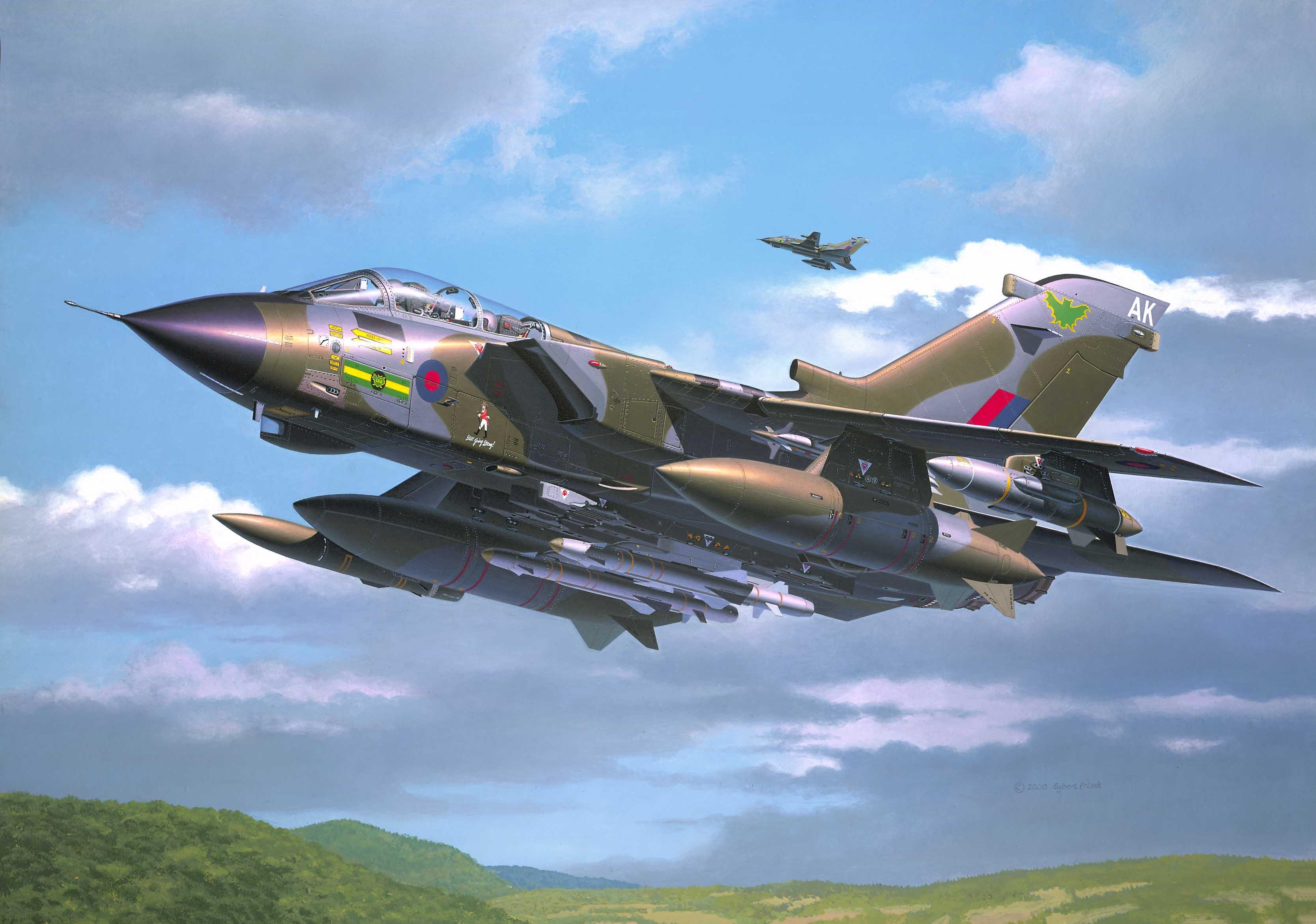 рисунок Panavia Tornado