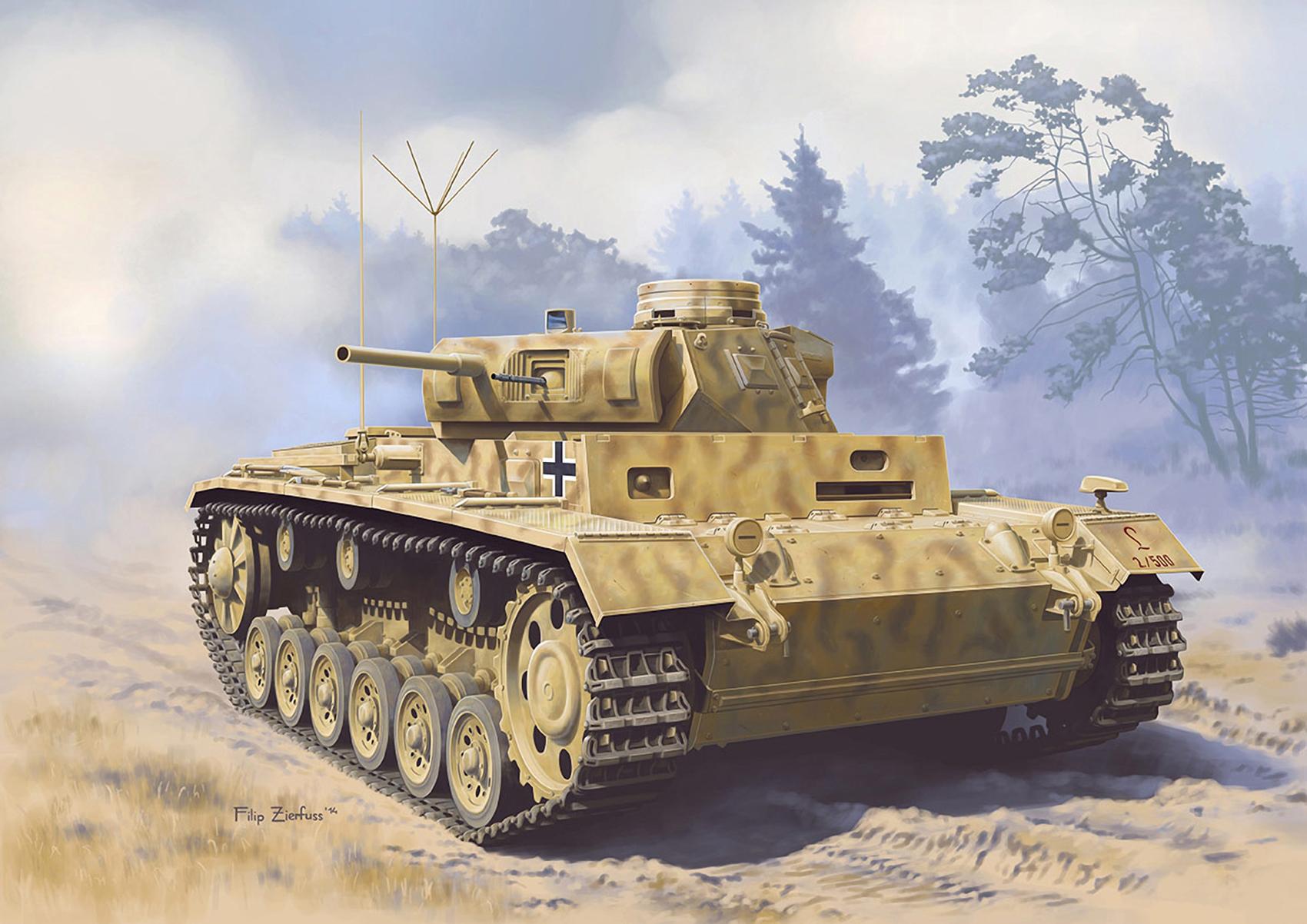 рисунок командирский Т-3