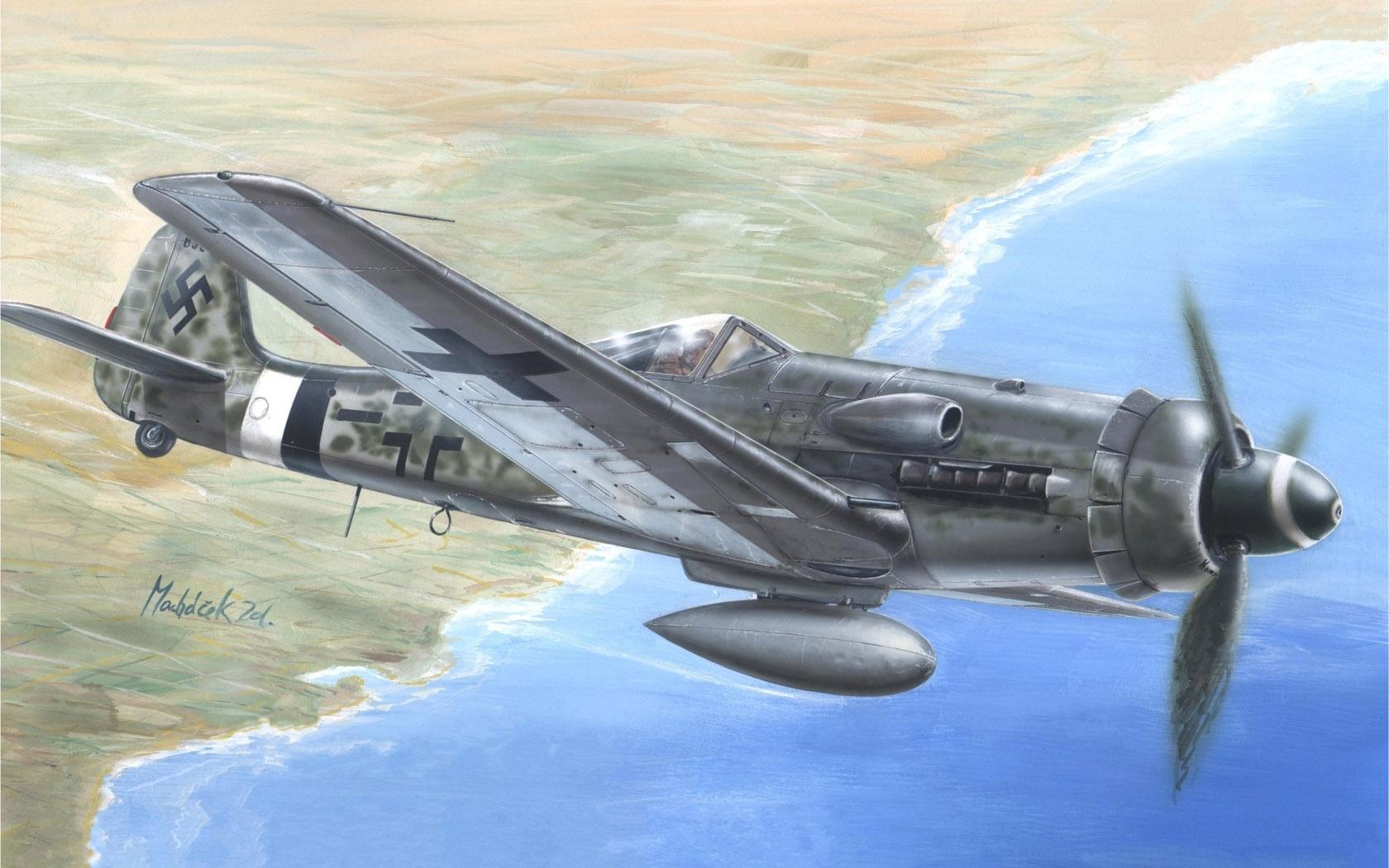 рисунок Focke-Wulf Fw-190D-13/R11