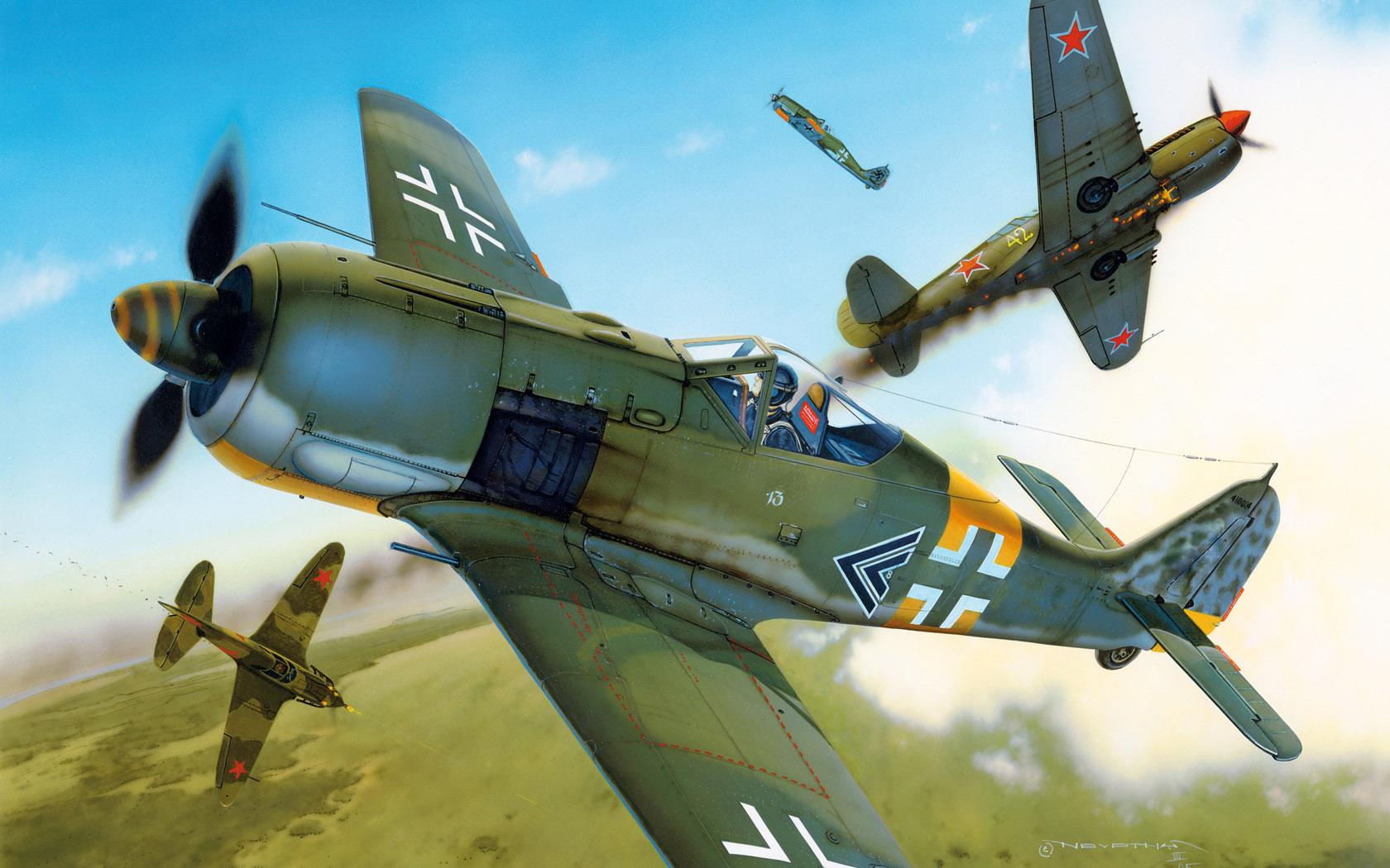 рисунок Fw-190A-5