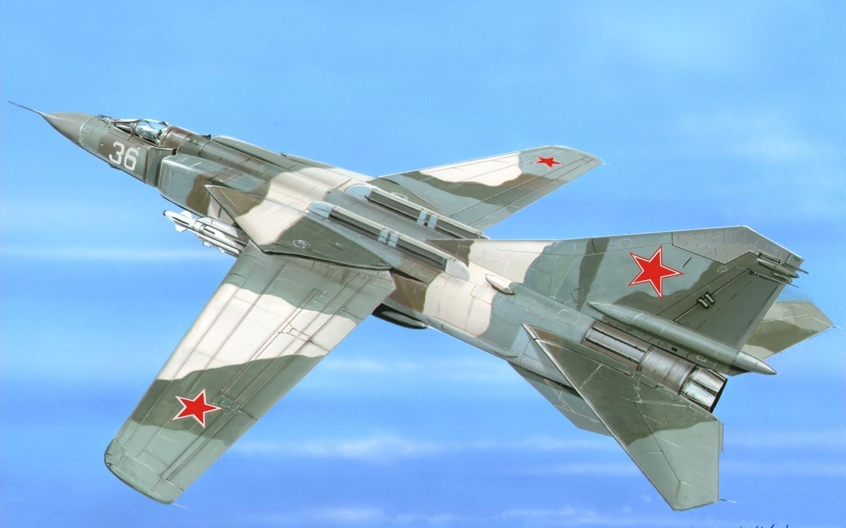рисунок МиГ-23-98