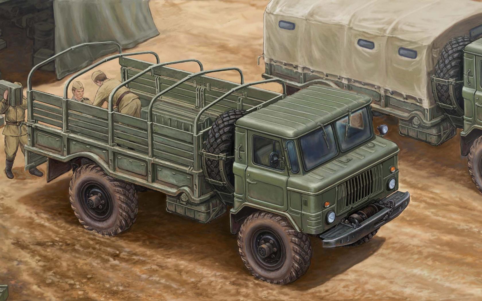 рисунок ГАЗ-66