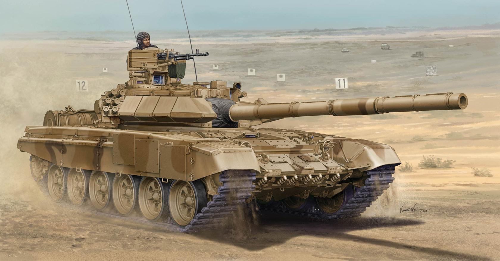рисунок Т-90С