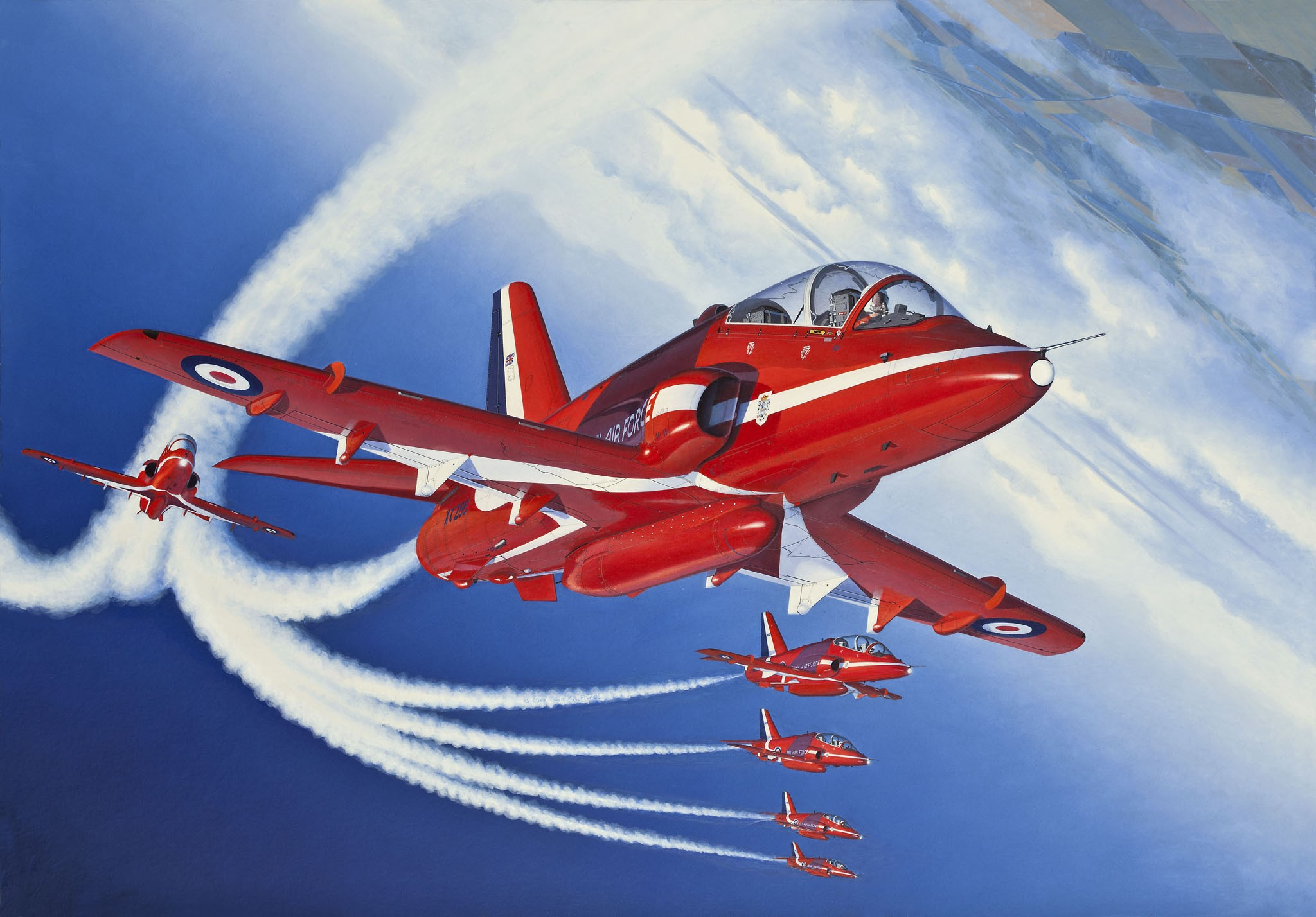 рисунок BAe Hawk T.1