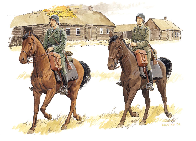 рисунок German 1st Cavalry Division, Russia 1941