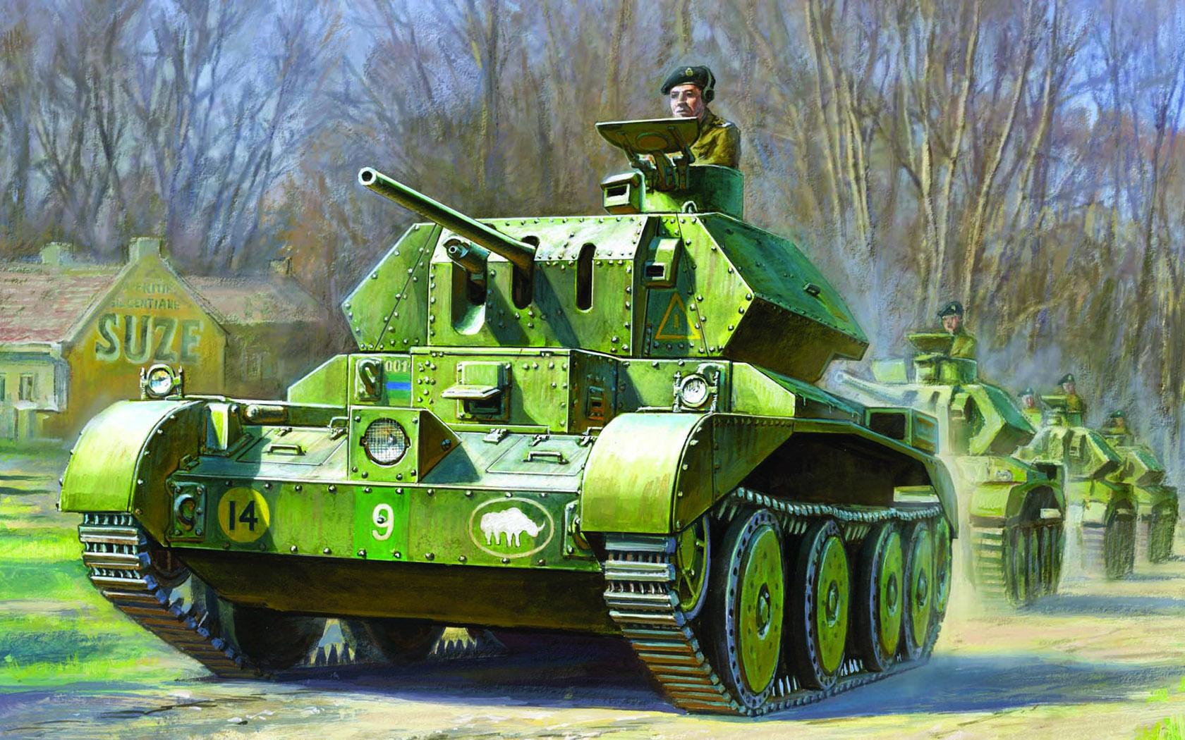 рисунок А13 Mk.II Cruiser Mk.IV