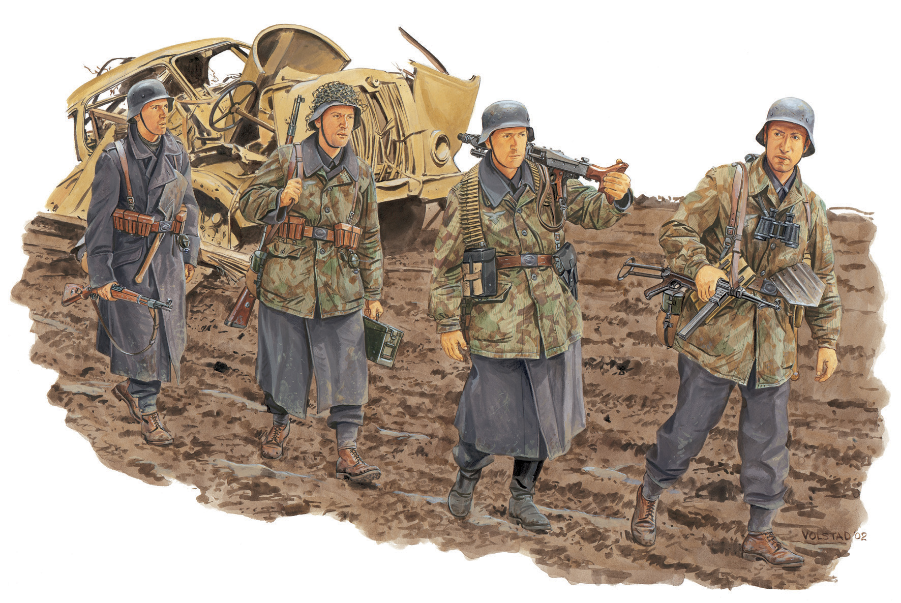рисунок German Infantry HG Division