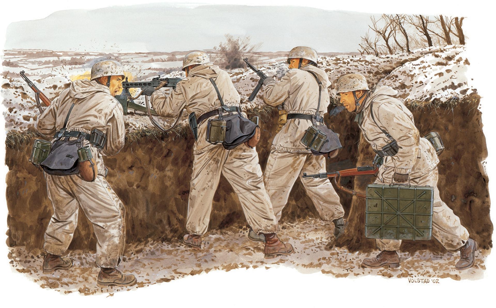 рисунок 2-я десантная дивизия