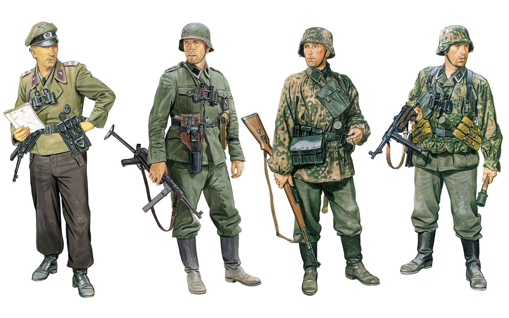 рисунок German Fighting Elite in the East