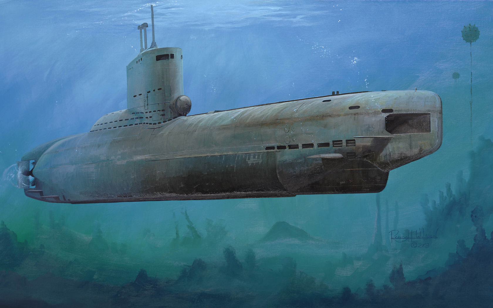 рисунок U-Boot-Klasse XXIII