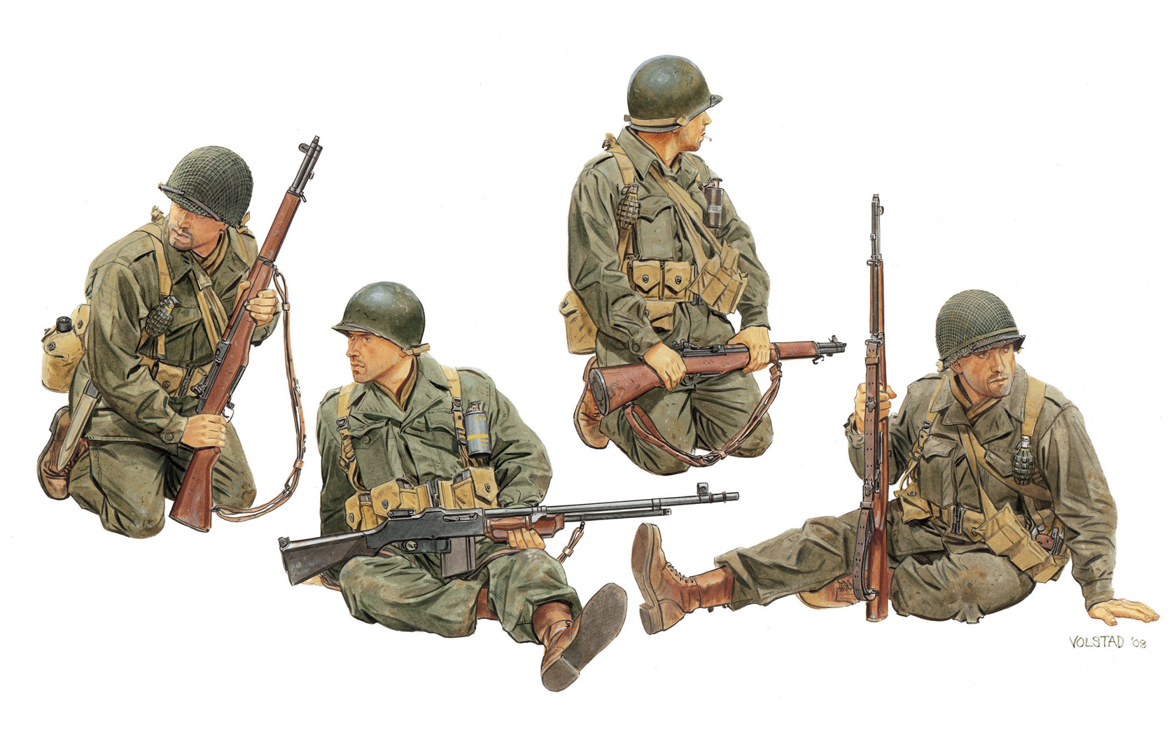 рисунок U.S. Army Tank Riders