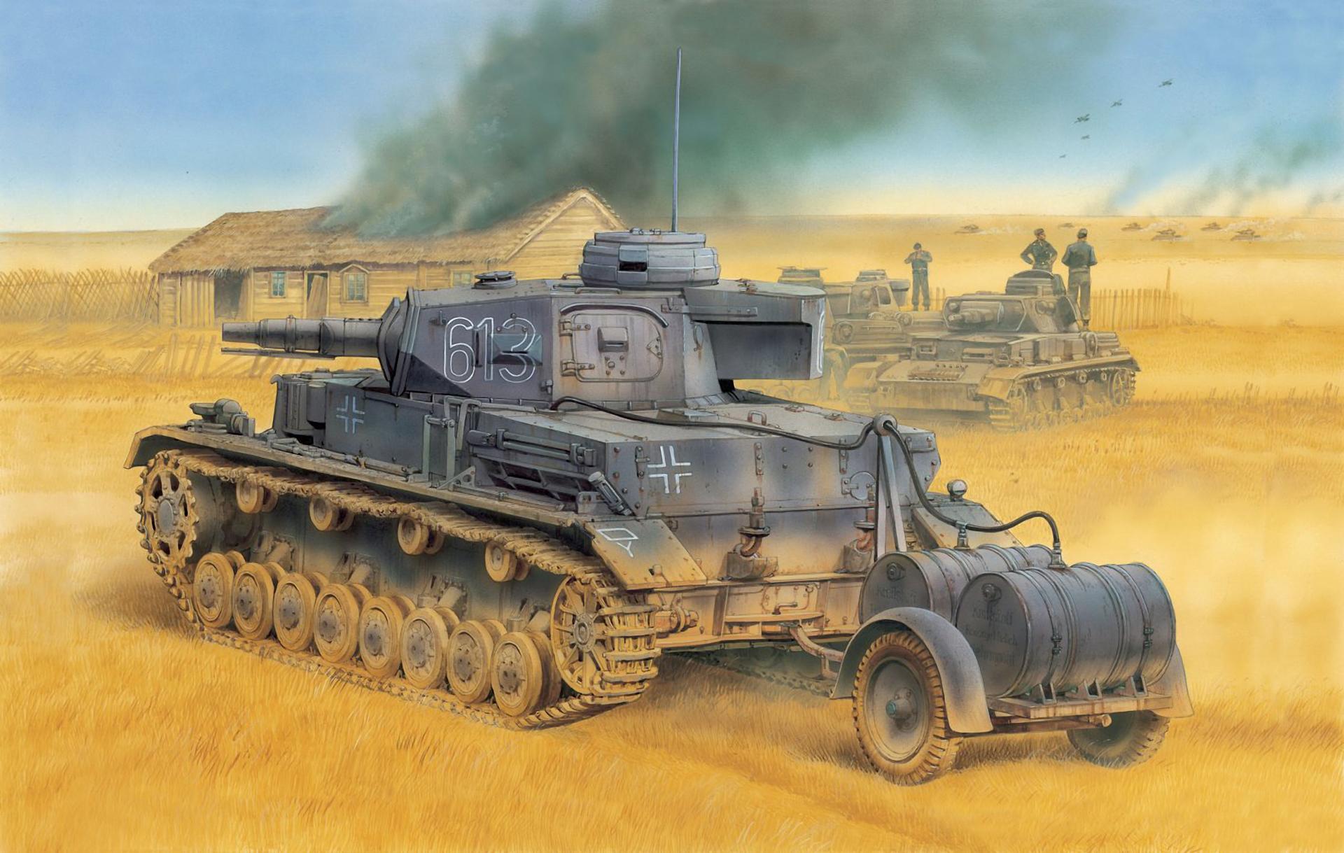 рисунок Pz.Kpfw. IV Ausf. E