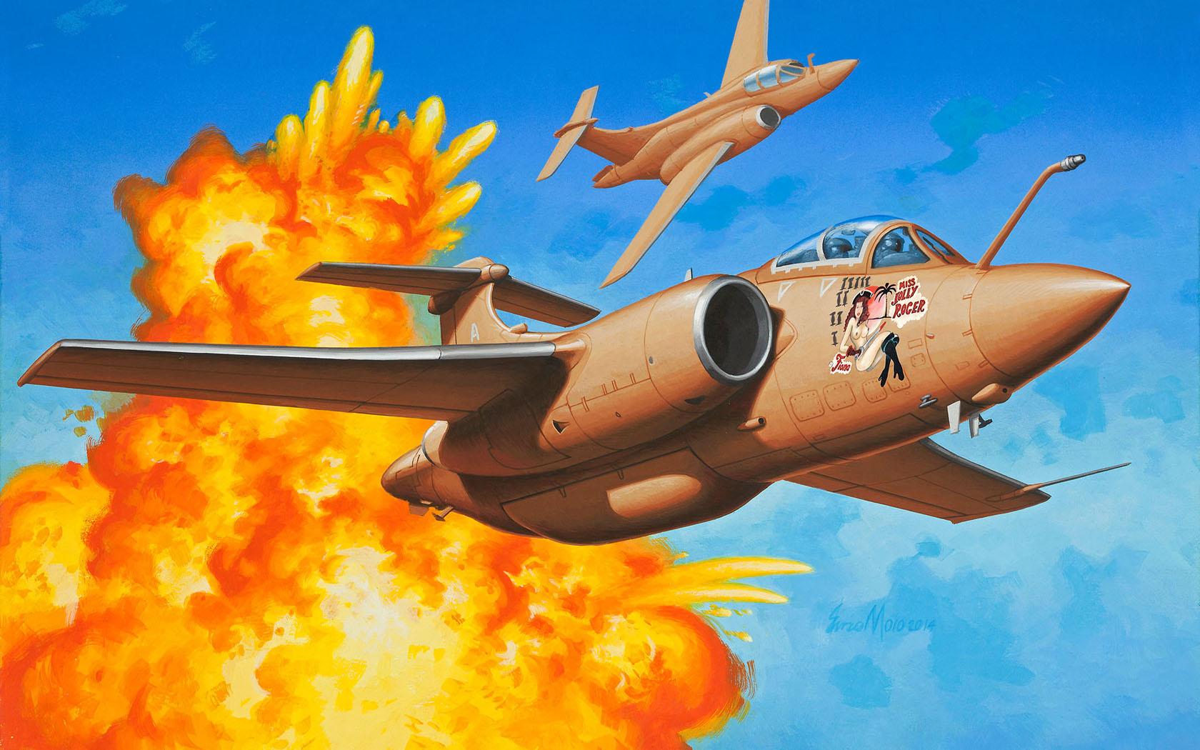 рисунок Buccaneer S Mk.2B