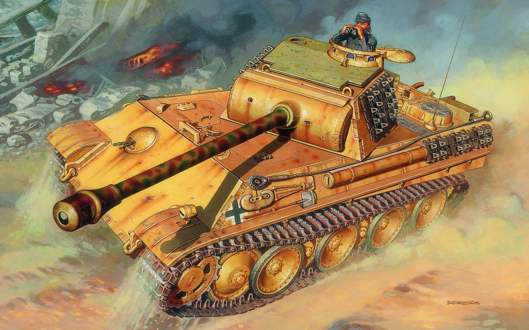 рисунок Pz Kpfw V Panther Ausf G