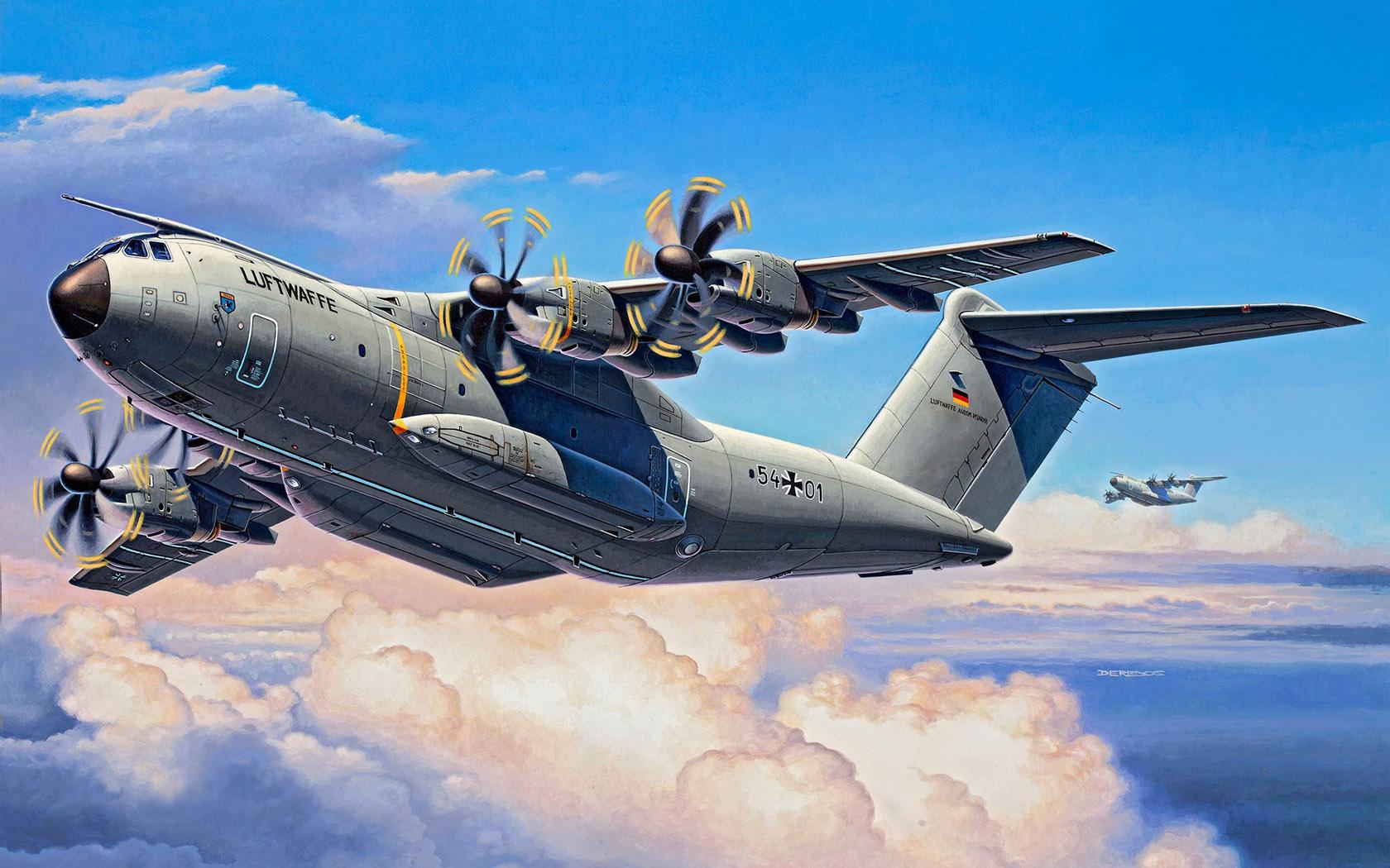 рисунок Airbus A400 M Atlas