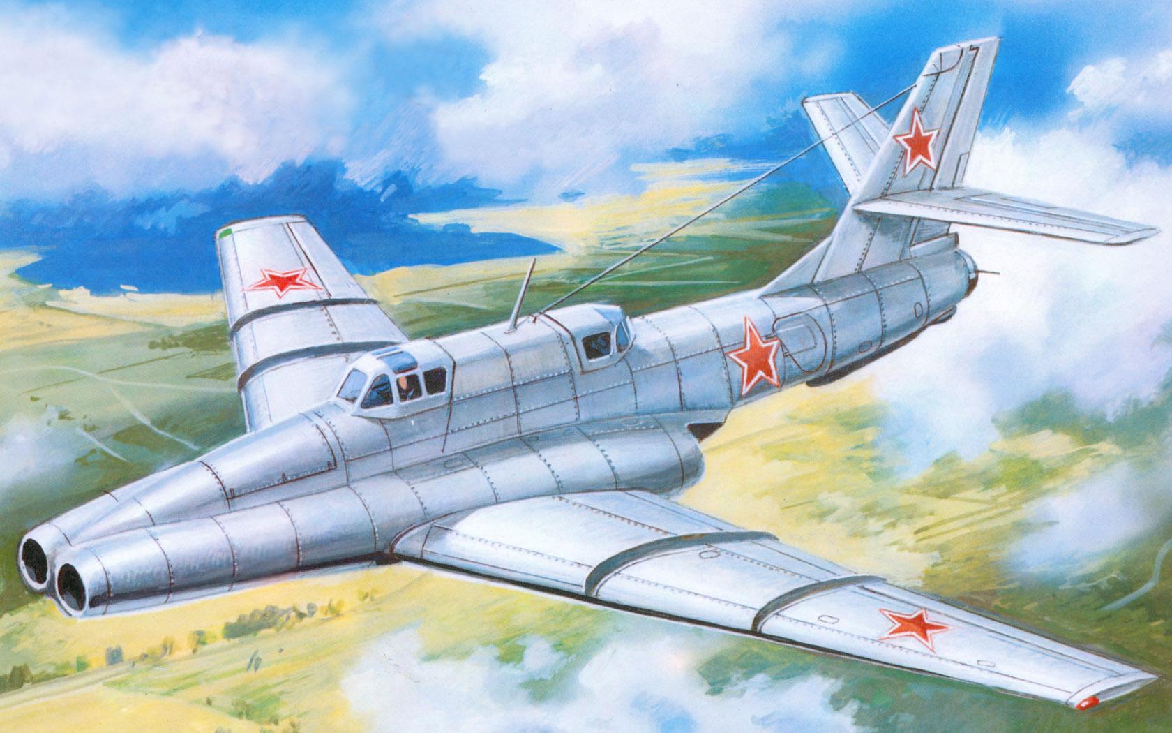 рисунок штурмовик Ил-40