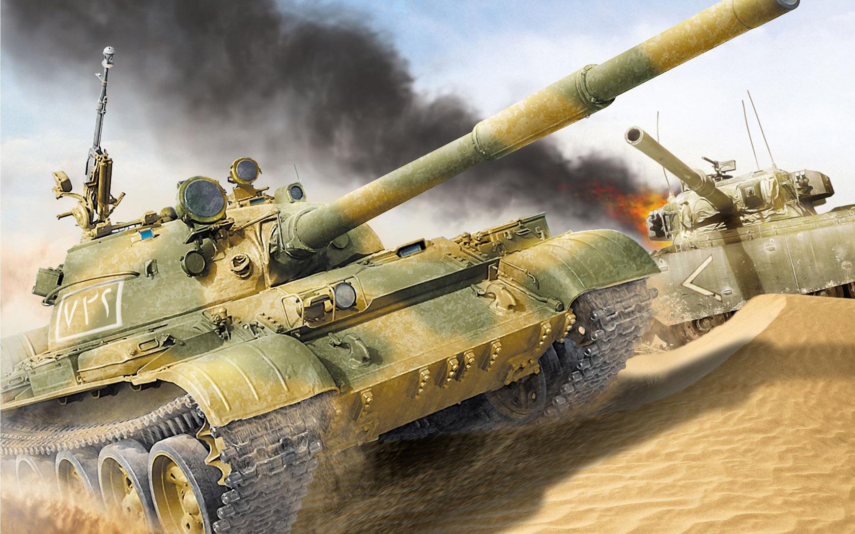 рисунок сирийский Т-62