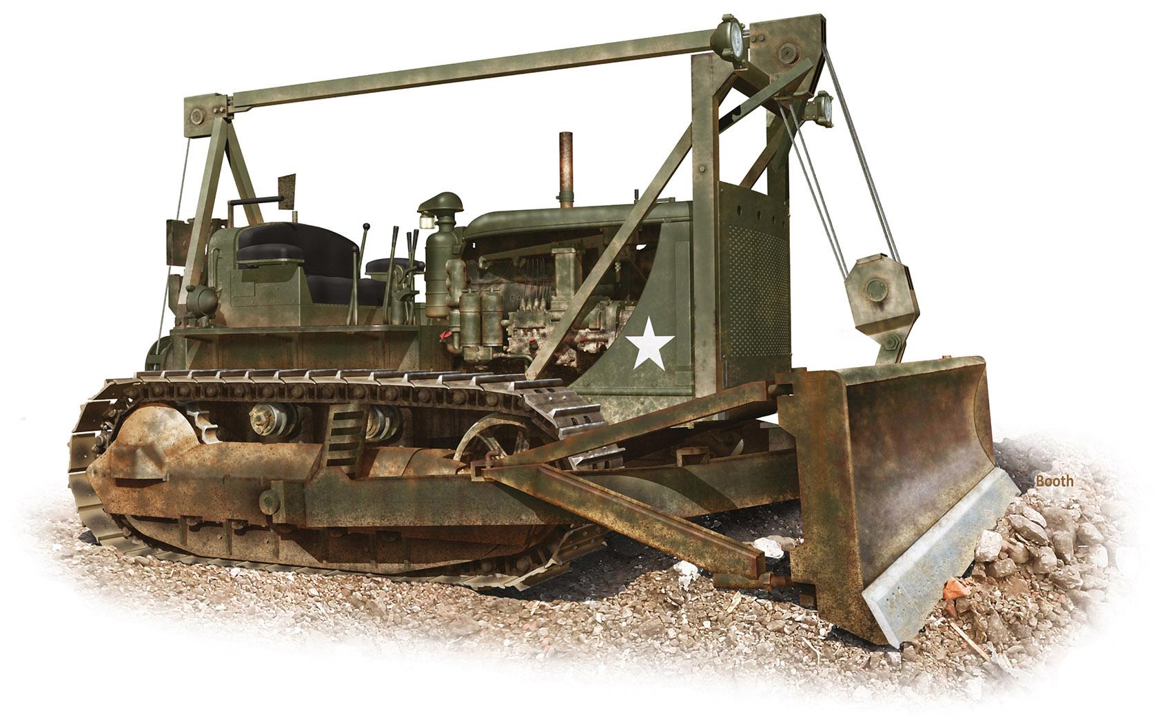 рисунок D7 Bulldozer