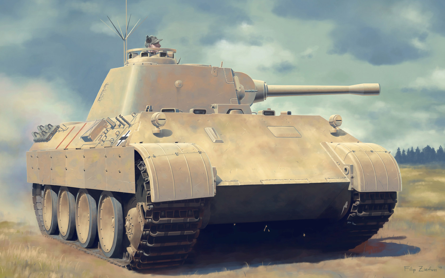 рисунок Pz.Beob.Wg.V Panther